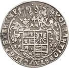 ¼ Thaler - Volrat VI., Jobst II., Wolfgang III. and Bruno III. (Death) – obverse