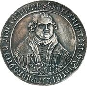 Medal - 100th Anniversary Naumburger Convention (Mansfeld-Eisleben) – obverse