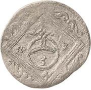 1 Dreier - Johann Georg II. – reverse