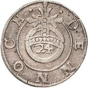 1 Groschen - Johann Georg II. (Sterbegroschen; Death) – reverse