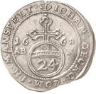 1 Groschen - Johann Georg III. – obverse