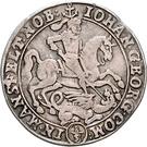 ⅓ Thaler - Johann Georg III. – obverse