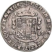 ⅓ Thaler - Johann Georg III. – reverse