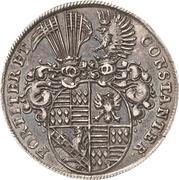 ¼ Thaler - Johann Georg III. (Death) – reverse