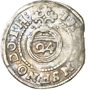 1 Groschen - Johann Georg II. – reverse