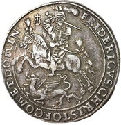 1 Thaler - Friedrich Christoph & David – obverse