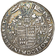 1 Thaler - Friedrich Christoph & David – reverse