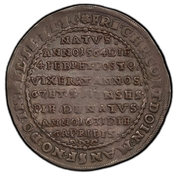 1 Thaler - Friedrich Christoph (Death) – obverse