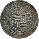 1 Thaler - Gebhard VII., Joh. Georg I. & Peter Ernst I – obverse