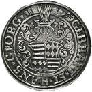 1 Thaler - Gebhard VII & Johann Georg I – obverse