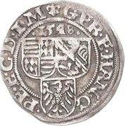 1 Spitzgroschen - Gebhard VII, Johann Georg I & Peter Ernst I – obverse