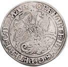 ½ Thaler - Gebhard VII, Johann Georg I & Peter Ernst I – obverse