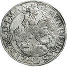 1 Thaler - Gebhard VII, Johann Georg I & Peter Ernst I – obverse