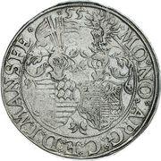 1 Thaler - Gebhard VII, Johann Georg I & Peter Ernst I – reverse