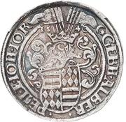 ½ Thaler - Gebhard VII., Albrecht VII., Philipp II. and Johann Georg I. – obverse