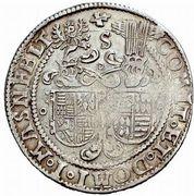 ½ Thaler - Christoph II, Johann Albrecht I & Bruno II – reverse