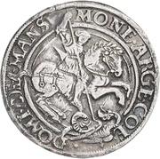 ½ Thaler - Gebhard VII., Albrecht VII., Philipp II. and Johann Georg I. – reverse