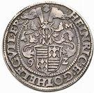 ½ Thaler - Heinrich II & Gotthelf Wilhelm I – obverse