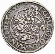 ½ Thaler - Heinrich II & Gotthelf Wilhelm I – reverse