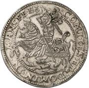 1 Thaler - Heinrich II. and Gotthelf Wilhelm – reverse