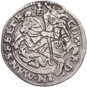 ¼ Thaler - Heinrich II. and Gotthelf Wiilhelm – reverse