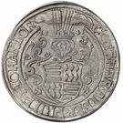 1 Thaler - Gebhard VII, Albrecht VII, Philipp II & Johann Georg I – obverse