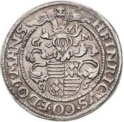 ½ Thaler - Heinrich II. (Spruchtaler) – obverse