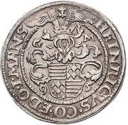 ½ Thaler - Heinrich II. – obverse