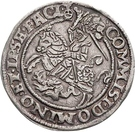 ½ Thaler - Heinrich II. – reverse