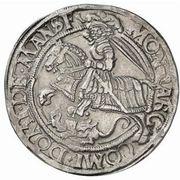 1 Thaler - Gebhard VII, Albrecht VII, Philipp II & Johann Georg I – reverse