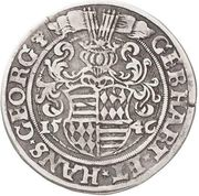 ½ Thaler - Gebhard VII & Johann Georg I – obverse