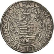 1 Thaler - Gebhard VII, Philipp II & Johann Georg I – obverse