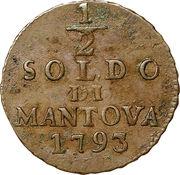 ½ Soldo - Franz II – reverse