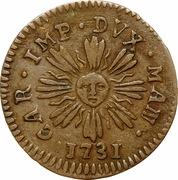 1 Soldo - Karl VI – obverse