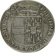 1 Scudo - Ferdinando Carlo – obverse