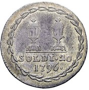 20 Soldi - Franz II – reverse