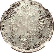 20 Kreuzer - Ferdinand I – reverse