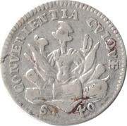 1 Lira - Ferdinando Gonzaga – reverse