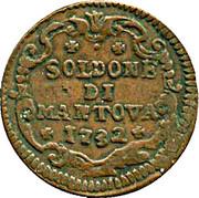 1 Soldone - Karl VI – reverse