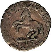10 Soldi - Ferdinando Carlo Gonzaga – reverse
