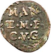 1 Soldo - Ferdinando Carlo Gonzaga – reverse