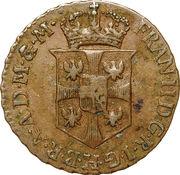 ½ Soldo - Franz II – obverse