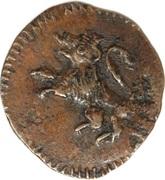 ¼ Real - Fernando VII (Royalist coinage) – obverse