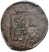 2/4 Real - Fernando VII (Royalist coinage) – obverse