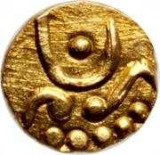 1 Fanam (Peshwas) -  reverse