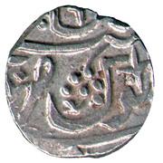 1 Rupee - Shah Alam II (Chandor) – reverse