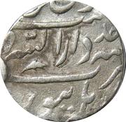 1 Rupee - Shah Alam II (Burhanpur mint) – reverse