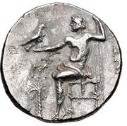 Tetradrachm (Imitation of Tetradrachm of Alexander III) – reverse