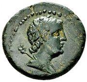Æ20 (Ptolemy VI and Marathos) – obverse