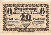 20 Heller (Marbach) -  obverse
